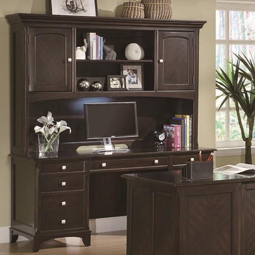 office desk with hutch storage. Garson Credenza With Hutch Task Light Office Desk Storage E